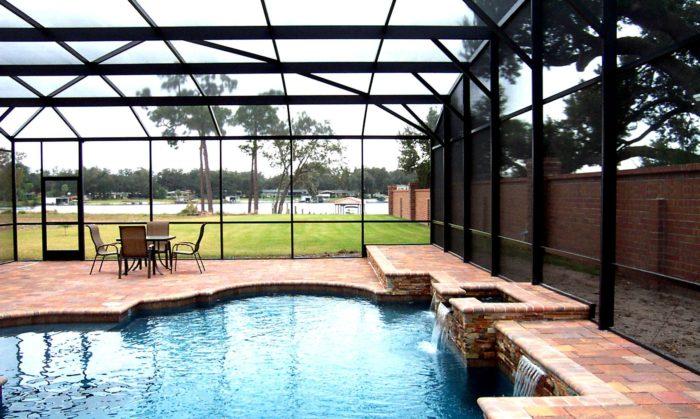 Aluminum Screen Enclosure-Boca Raton Pool Screen Enclosure Installation and Patio Screen Repairs Services-We do screen enclosures, patios,poolscreens, fences, aluminum roofs, professional screen building, Pool Screen Enclosures, Patio Screen Enclosures, Fences & Gates, Storm Shutters, Decks, Balconies & Railings, Installation, Repairs, and more
