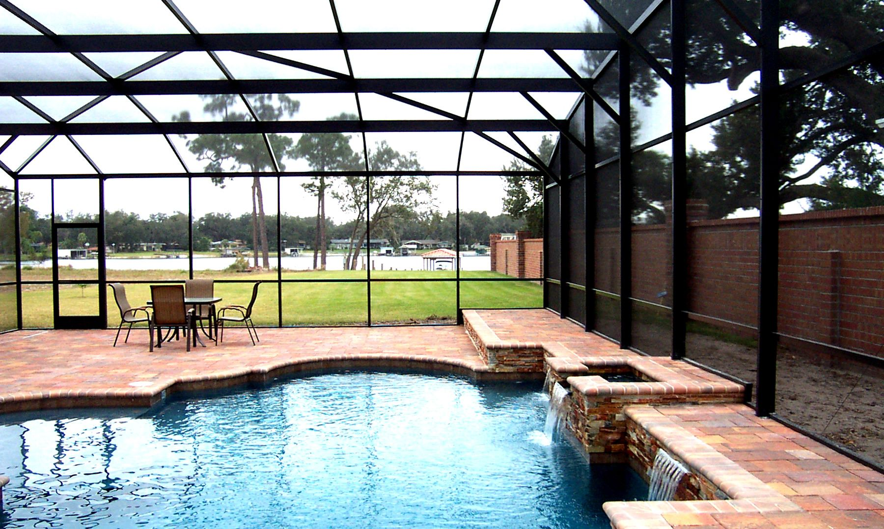 Aluminum Screen Enclosure-Boca Raton Pool Screen Enclosure Installation and Patio Screen Repairs Services-We do screen enclosures, patios, pool screens, fences, aluminum roofs, professional screen building, Pool Screen Enclosures, Patio Screen Enclosures, Fences & Gates, Storm Shutters, Decks, Balconies & Railings, Installation, Repairs, and more