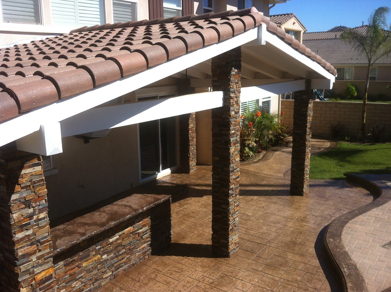Patio Covers-Boca Raton Pool Screen Enclosure Installation and Patio Screen Repairs Services-We do screen enclosures, patios, pool screens, fences, aluminum roofs, professional screen building, Pool Screen Enclosures, Patio Screen Enclosures, Fences & Gates, Storm Shutters, Decks, Balconies & Railings, Installation, Repairs, and more