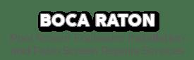 Boca Raton Pool Screen Enclosure Installation and Patio Screen Repairs Services-new logo